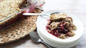 Ciasto potrójnie jagodowe, THCLand.pl